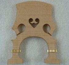 height adjustable cello bridge 4/4 size MAPLE . UK seller