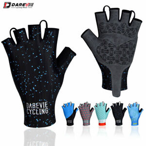 DAREVIE Cycling Gloves Pro Light Soft Breathable Cool Dry Half Finger Cycling