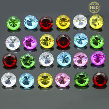 24 PCS Colorful Crystal Glass Diamond Paperweights Wedding Home Decor Gift 20mm