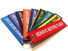 1 x Remove Before Flight Key chain | Keyring | High Quality / Fast Dispatch