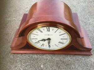 "Howard Miller 635107 Mantel Clock Dual Chime 17""x 9.5""x 5.5"""