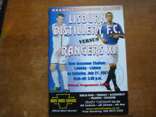 LISBURN DISTILLERY v RANGERS JULY 2007