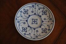 Untertasse Untere Form Marienbad Ingres Weiss Indisch Blau Strohblume Porzellan