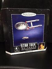 1996 Hallmark Keepsake STAR TREK 30 Years 2 Ornaments Voice Magic NIB