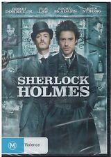 DVD: SHERLOCK HOLMES: ROBERT DOWNEY JR, JUDE LAW, NEW, SEALED