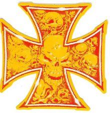 Aufkleber Iron Cross - IC - Eisernes Kreuz - Totenkopf - Skull - Old Shool (65)