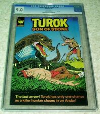 Turok Son of Stone 130, VF/NM (9.0) CGC Graded 1982 Western Publishing Warehouse