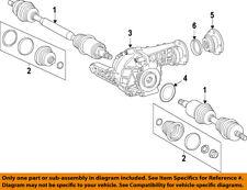 Mercedes MERCEDES-BENZ OEM 12-15 ML350 Front Drive-CV Shaft Axle Assy 1663301300
