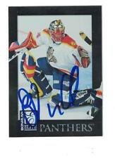John Vanbiesbrouck AUTOGRAPH 1997-98 DONRUSS ELITE HOCKEY CARD SIGNED FLORIDA