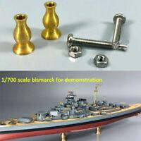 1:700 1:350 Model Ship Display Pedestals Copper Column Brass Supports 5D CYG025