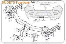 Vauxhall Mokka-X 2016> - Tow Trust Fixed Flange Towbar