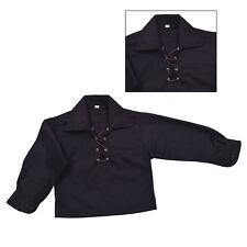 NIÑOS Lujo Ghillie Camisa Niño Ghillie Camisa - Blanco, Crema o Negro