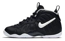 "Nike Little Posite PRO (GS) Foamposite ""DR DOOM"" BLACK 644792 -006 SIZE 3.5Y"