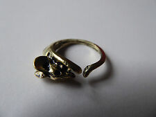 Cute Mouse/Rat Ring,Adjustable,Ring,Cute,Gift,Bronze,Mouse,Rodent,Ring
