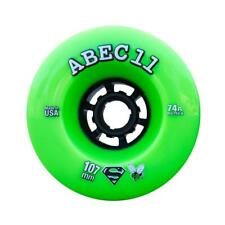 Abec 11 SuperFly Wheels Set Lime Black 107mm/74a