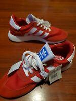 NEW Men Size 12 ADIDAS I-5923 BD7811 Scarlett Gum Red Originals Shoes RETRO RARE