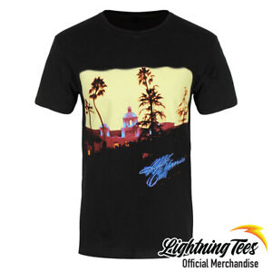 The Eagles Official Hotel California Band Black T-Shirt