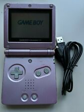 Nintendo Game Boy Advance SP Pink + NEW USB    ---NO SOUND---