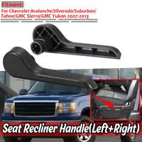 Pair Seat Recliner Handle Lever For Chevrolet GMC 07-13 Silverado 1500 2500 3500