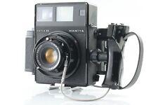 [Exc+5] Mamiya Press Super 23 + Sekor 100mm F3.5 Lens 6x7 Film Back Japan #10514