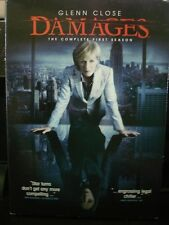 Damages - The Complete First Season (DVD, 2008, 3-Disc Set) WORLD SHIP AVAIL