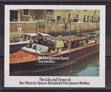 THE LIFE AND TIMES OF THE QUEEN MOTHER STAMP SHEET ZIL ELWANNYEN SESEL MS119