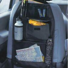 Quality 2x BACK SEAT CAR VAN SEAT CHILDRENS ORGANISER TIDY MULTI-POCKET STORAGE