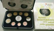 Italia Italien KMS set serie zecca 10 monete con 5€ argento e 2€ proof 2020