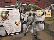 GI JOE ~ AIR ASSAULT GLIDER w/ Capt. Ace ~ ARCTIC THREAT 100% COMPLETE
