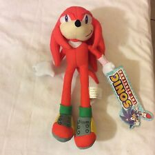 """Authentic  9"""" Knuckles Sonic the Hedgehog Plush Brand New w/tag"""