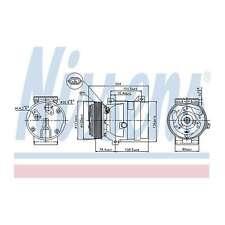 Fits Renault Trafic MK3 2.0 16V Genuine Nissens A/C Air Con Compressor