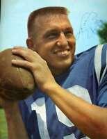 Johnny Unitas Psa Dna Coa Autograph Vintage 1960`s 8x10 Photo Hand Signed