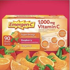 Emergen-C Vitamin C 1000 mg Drink Mix Variety Pack (90 Packets)