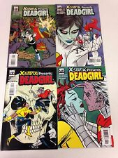 X-Statix Presents: Deadgirl #1 2 3 4 5 complete set Dead Girl