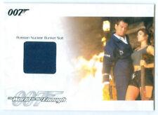 """RUSSIAN NUCLEAR BUNKER SUIT RELIC CARD #JBR26"" JAMES BOND MISSION LOGS"
