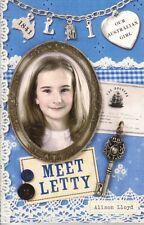 MEET LETTY - ALISON LLOYD - OUR AUSTRALIAN GIRL - VERY GOOD USED COPY