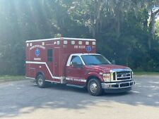2010 Ford F350 Ambulance Diesel Fl Truck 1 Owner Wheeled Coach Star Of Life Cert