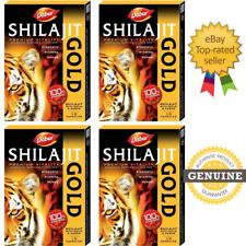 SHILAJIT GOLD CAPS (10-100 Caps) FOR STAMINA STRENGTH VIGOUR WELLNESS | DABUR