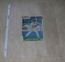 Don Mattingly 1990 Post Cereal Poster Cut Art not Photo Mint Oddball