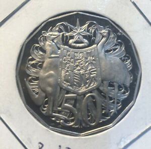 1996 Proof 50 Cent Coin