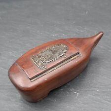Boite à Tabac Tabatière Grande Roue Exposition universelle Paris 1900 Snuf Box