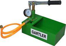 POMPA Set Riempimento Gartler 25 bar con contenitore Pompa A Mano Pompa Solare Pompa test riscaldamento