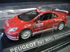 PEUGEOT 307 WRC Rallye WM Monte Carlo 2004 #5 Grönholm Total IXO Altaya 1:43