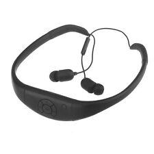 MP3 Player Black Headphone of Waterproof 8GB Swimming Surfing SPA Music Sports
