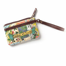 Seeker of Truth Wristlet Kelly Rae Roberts Bag Purse Floral Cell Phone Holder