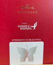 Hallmark 2021 Strength Is Beautiful Butterfly Christmas Ornament New with Box