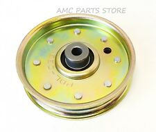 Flat Idler Pulley Replaces MTD Cub Cadet Pulley # 02005077