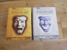 THE DRAMATIC WORKS OF WILLIAM SHAKESPEARE BBC COMEDY & TRAGEDY DVD TIME LIFE