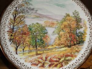 Queen Duchy Fine China Collectors Plate Autumn