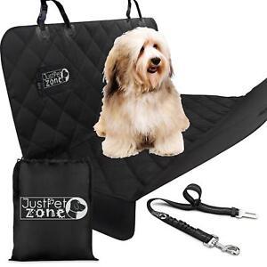 Dog Car Seat Cover Scratch Proof,Waterproof - Heavy Duty Hammock with Belt & Bag